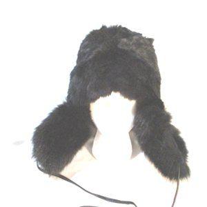 EUGENIA KIM Aviator Fur Hat Cap Trooper Flap Russi